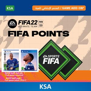 KSA FIFA 22 FUT points